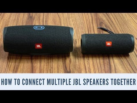 How to Connect Multiple JBL Speakers Together