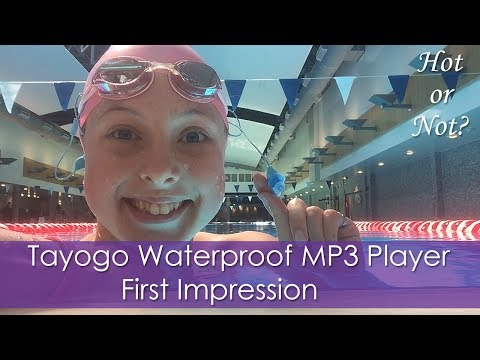 Tayogo Waterproof MP3 Player First Impression!   Hot or Not?