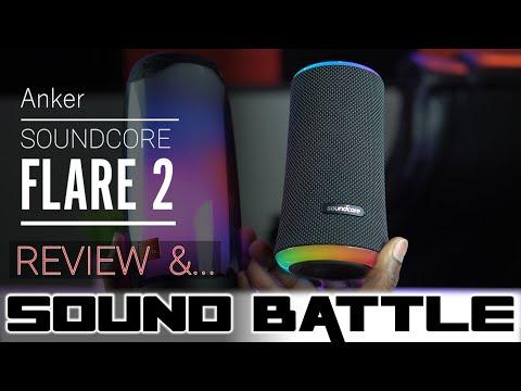 Anker Soundcore Flare 2 Review & JBL Pulse 4 SoundBattle