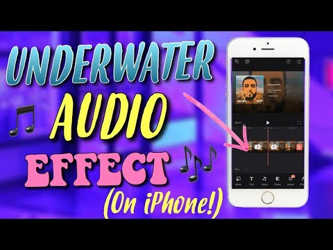 HOW TO GET THE UNDERWATER/MUFFLED AUDIO EFFECT ON IPHONE | 2018