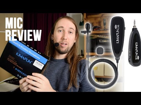 KIMAFUN Wireless Lavalier Microphone and Headset System Review