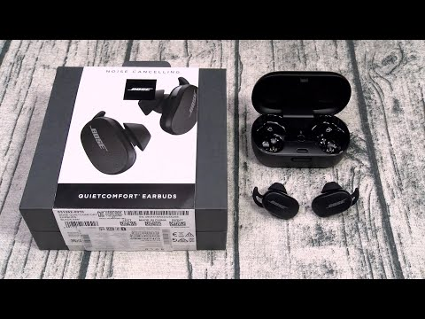 Bose Quiet Comfort Truly Wireless Noise Canceling Earbuds