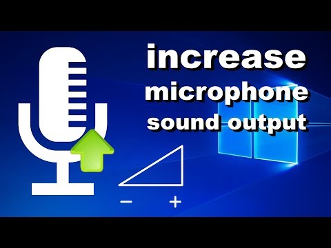How to Fix Low Microphone Volume - make your mic louder in Windows 10 (2021 Working)
