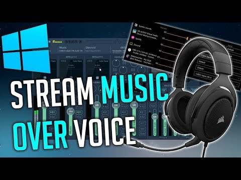 Stream Music Through Your Mic (Youtube, Spotify, Soundcloud, etc.)