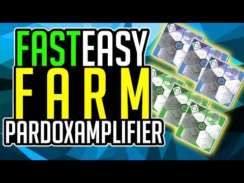 Destiny 2 How to FARM PARADOX AMPLIFIERS FAST N EASY Farm ADVANCED PARADOX AMPLIFIERS