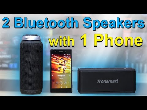 How to: Connect 2 Bluetooth Speakers to 1 Phone – Tutorial