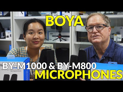 Boya BY-M1000 & BY-M800 Large Diaphragm Condenser Microphones