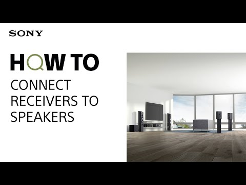 HOW TO: Connect receivers to speakers