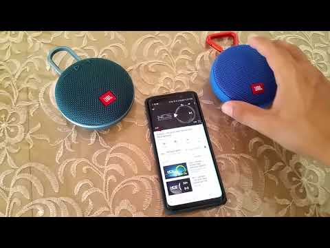 How to connect JBL Clip 2 and JBL Clip 3 using Dual Audio Samsung S9
