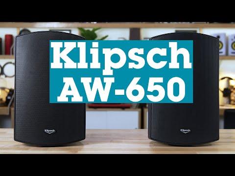 Klipsch AW-650 outdoor speakers | Crutchfield