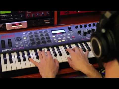 Akai MPK249 Midi Keyboard Controller Review and Demo