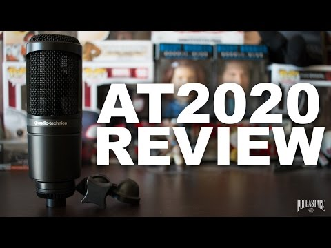 Audio-Technica AT2020 Cardioid Condenser Mic Review / Test