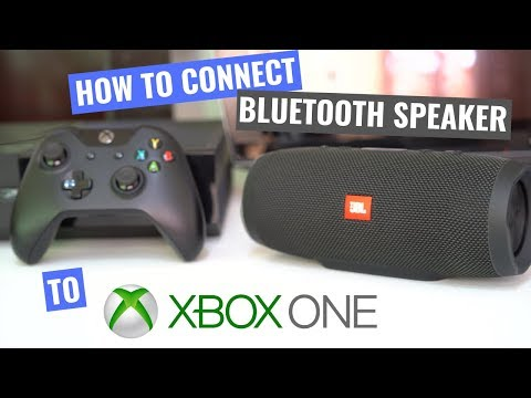 How to connect Bluetooth speaker on Xbox One. Optical Transmitter.