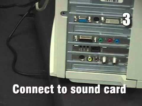 How to Install Computer Speakers
