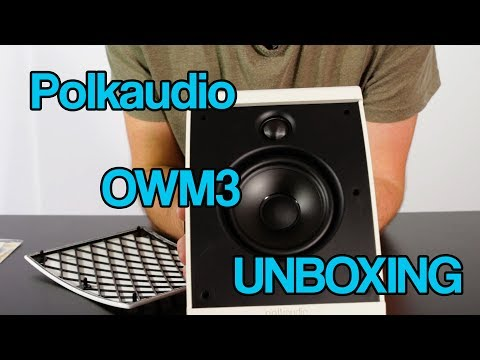 Polkaudio OWM3 Unboxing A swiss army knife of speakers