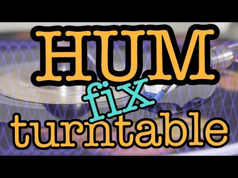 Turntable hum noise fix tutorial [part 1: how to ground] ★ vinyl stories ★