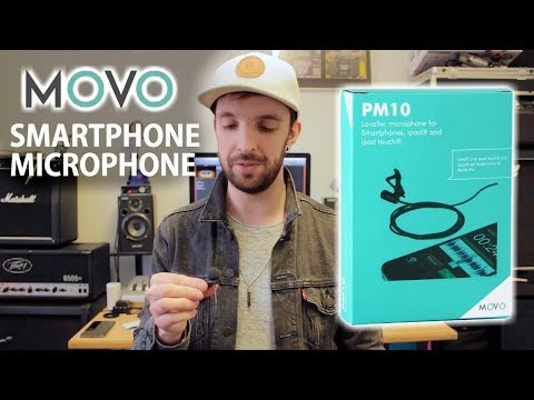 MOVO PM10 Smartphone Lavalier Microphone Review/Demo!