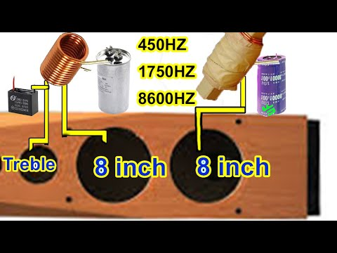 how to connect 4 speakers to a 2 channel amp two 8 inch Bass Speakers installed in speaker box