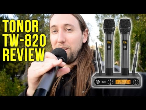 TONOR TW-820 UHF Wireless Microphone System Review