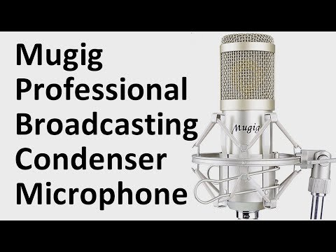 Mugig XLR condenser microphone review unboxing & test - The best cheap mic for podcasting & vlogging