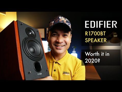 Edifier R1700BT Speaker Experience