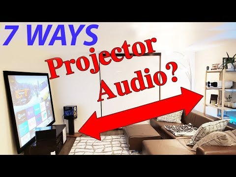 7 Ways to Connect a Projector to Speakers