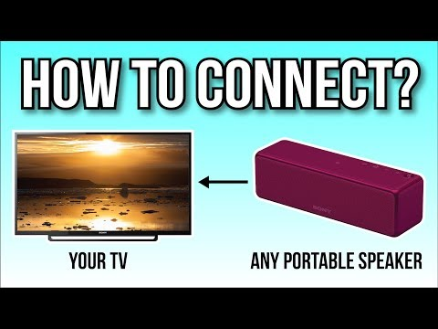How To Connect Your Portable Speaker To Your TV, The Easy Way