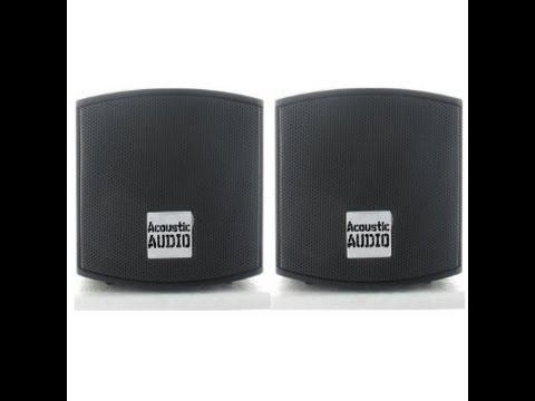 Acoustics Audio AA321 Bookshelf Speakers