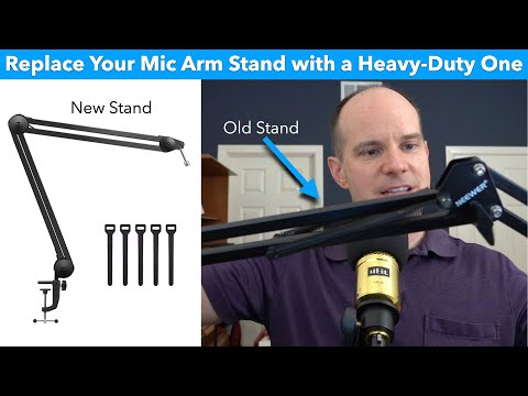 InnoGear Microphone Arm Stand (Heavy Duty): Comparison, Review & Usage