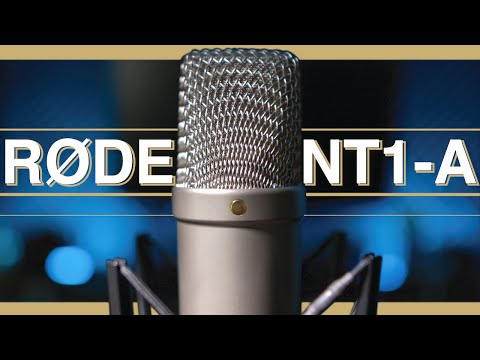 RODE NT1-A Condenser Microphone Review / Test
