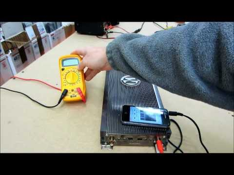 How to test an amp ( amplifier bench test )