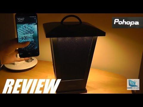 REVIEW: Pohopa Lantern Wireless Bluetooth Speaker?!