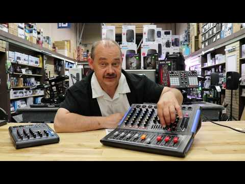 Detailed Review - New Audio mixer Pyle Pro PMXU46BT 4 Channel with EQ and Bluetooth