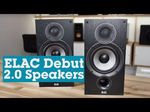 ELAC Debut 2.0 B6.2 bookshelf speakers | Crutchfield video
