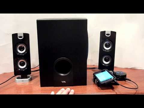 Review of Cyber Acoustics CA-3602 Speaker System
