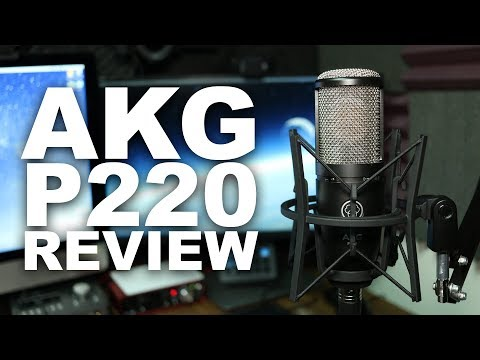 AKG P220 Condenser Microphone Review / Test