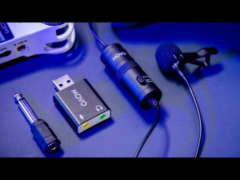 Could this be the best $20 microphone? MOVO LV1-USB Lavalier Microphone Review  