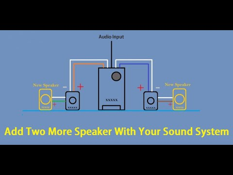 How to Add/Join more then two Speaker with Home theater Speaker Wiring (HINDI)