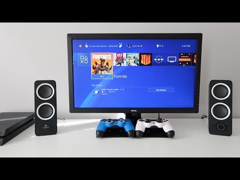 How to CONNECT PC Speakers to PS4 (EASY)