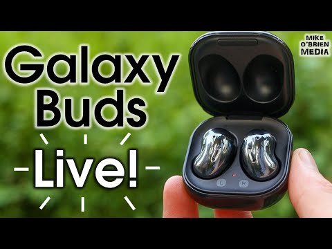 NEW GALAXY BUDS LIVE by Samsung (Audio, ANC & Mic Tested!)