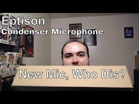 Eptison USB Condenser Microphone Unbox & Review