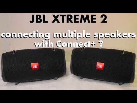 How to connect multiple speakers with JBL Connect+