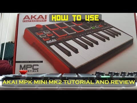 THE BEST AKAI MPK MINI TUTORIAL AND REVIEW!!!