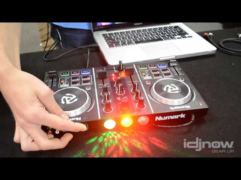 Numark Party Mix DJ Controller with built in light show Starter Pack | Demo, unboxing, tutorial