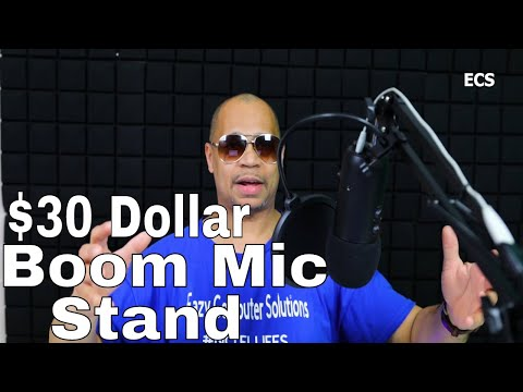 TONOR Adjustable Suspension Boom Scissor Mic Stand with Pop Filter | For ONLY 30 BUCKS!!!