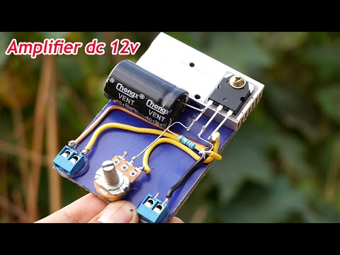 How to Make Amazing Mini Bass Amplifier DC 12v at Home