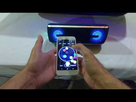Unboxing the Sony SRS XB41 Portable Party Speaker